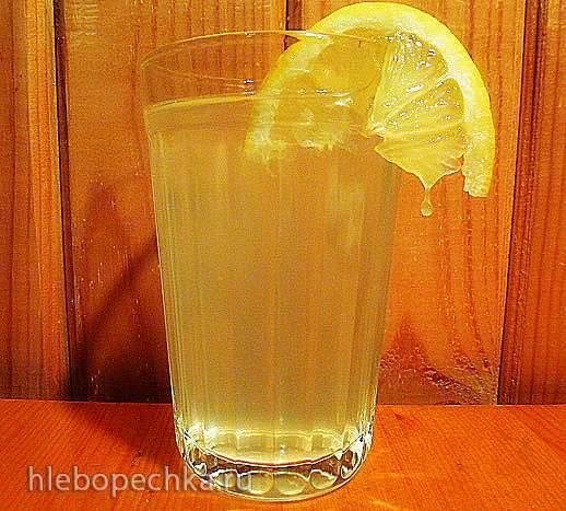 Освежающий медовый напиток от Дарии Цвек