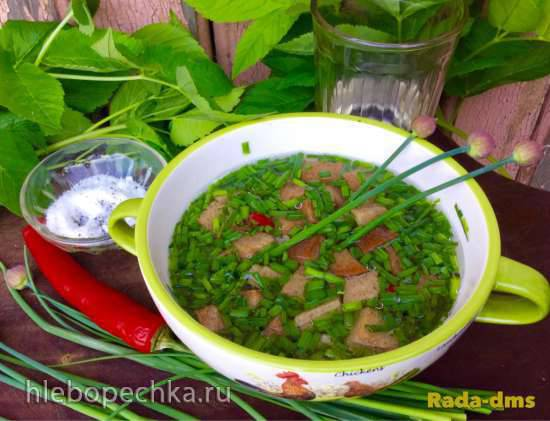Мурцовка - старинный  русский холодный суп