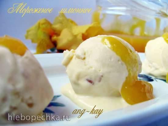 Мороженое лимонное (миксер)