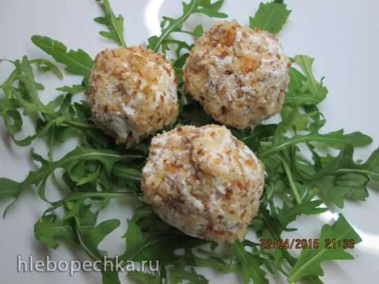 Закусочные сырные шарики