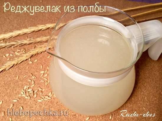 Реджувелак из полбы - полезный квасной напиток сыроедов  из пророщенной пшеницы естественной ферментации (Rejuvelac)