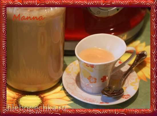 Томленое молоко в мультиварке KitchenAid