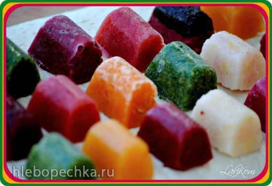 Ледок на зубок - замороженные закуски и десерты.