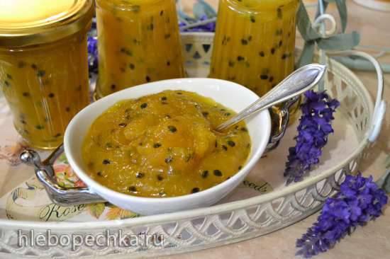 Джем «манго-апельсин-маракуйя» (А ля «Конфитюр «Сатин»)
