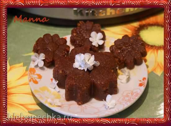Ореховые бурфи на топленом молоке (мультиварка KitchenAid) Ореховые бурфи на топленом молоке (мультиварка KitchenAid)