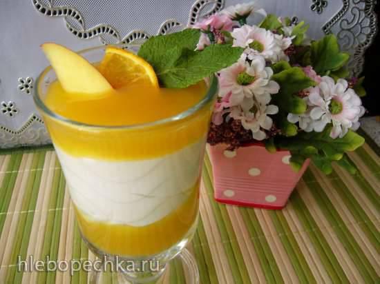 Апельсиново-манговый крем