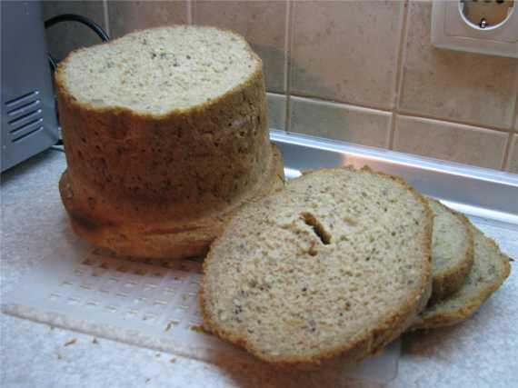 Пряный каравай (хлебопечка)