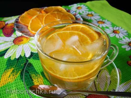 Зелёный чай с апельсинами Зелёный чай с апельсинами