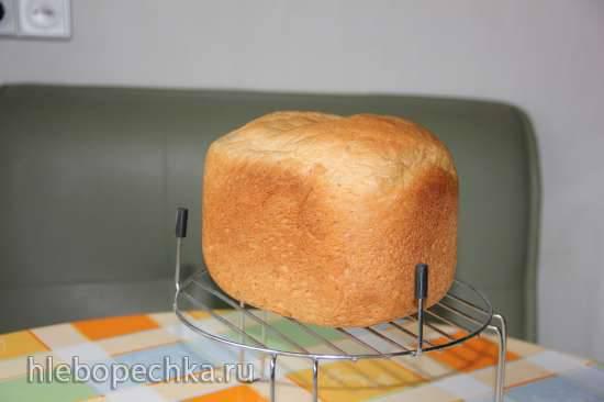 Пшенично-гречишно-ржаной хлеб