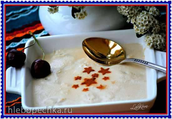 Холодный эстонский сладкий суп с пивом