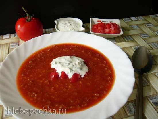 Суп томатно-яичный Ленивчик
