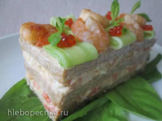 Брауотерта, исландский сэндвич - холодная закуска для жаркого лета