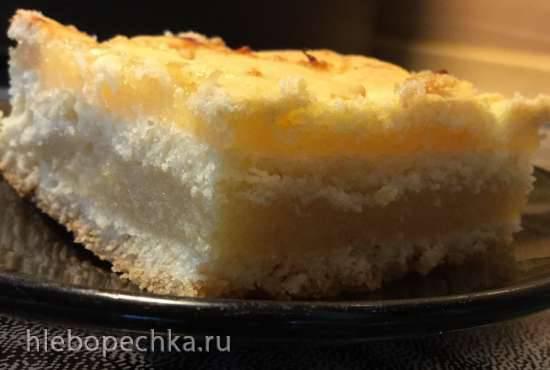 Лимонный пирог из песочного теста в Пиццамейкере Princess 115000
