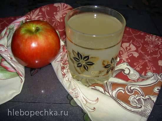 Квас на яблочном соке Минутка