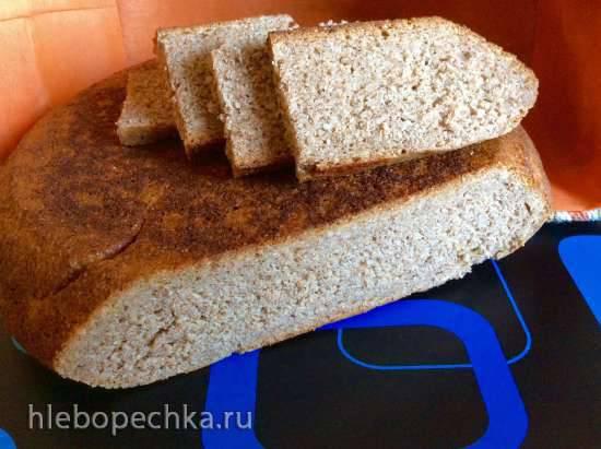 Хлеб цельнозерновой ржаной с ячменем