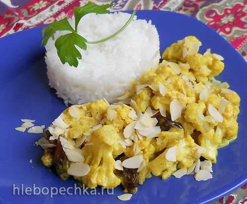 «Картофельное» пюре из цветной капусты (диетическое)