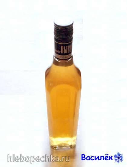 """Домашнее вино """"Шатурское солнечное"""""""