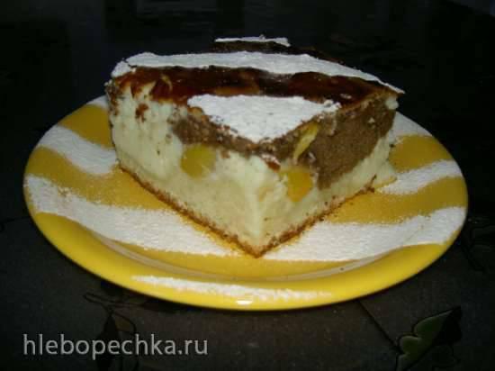 Пирог творожно-ягодный Нежность