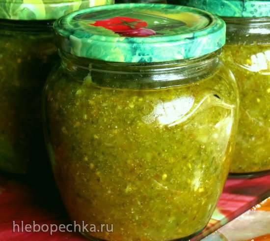 Салат Зеленая аджика