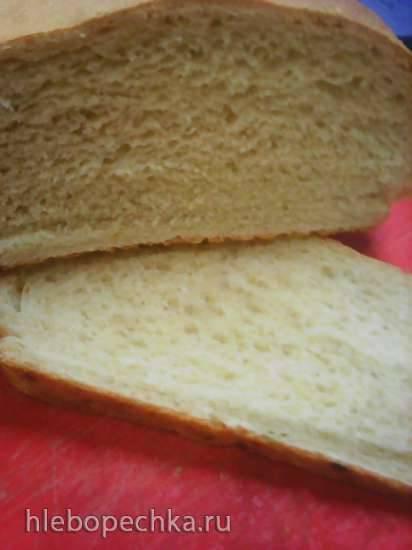 Простой маленький хлеб с манкой - в хлебопечке или духовке