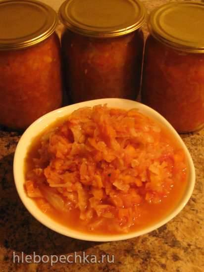 Заготовка борщевая свекольно-яблочная