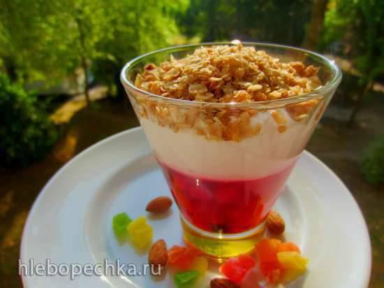 Летний ягодный десерт
