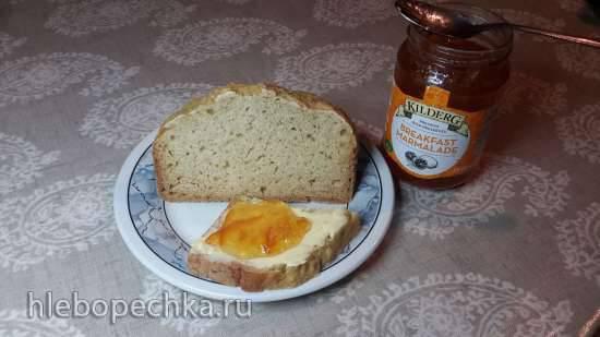 Содовый хлеб (простой пшеничный) в хлебопечке Panasonic SD-2500.