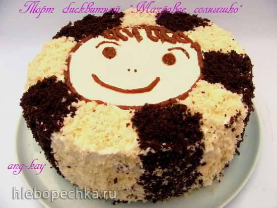 Торт бисквитный Махровое солнышко
