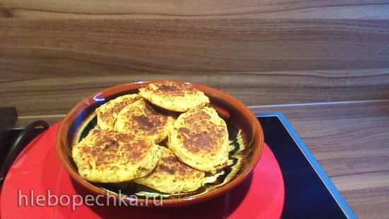 Картофельно-творожные лепёшки в пиццамейкере Princess 115000