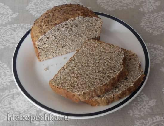 Цельнозерновой содовый хлеб (простой) в хлебопечке Panasonic SD-2500 Цельнозерновой содовый хлеб (простой) в хлебопечке Panasonic SD-2500