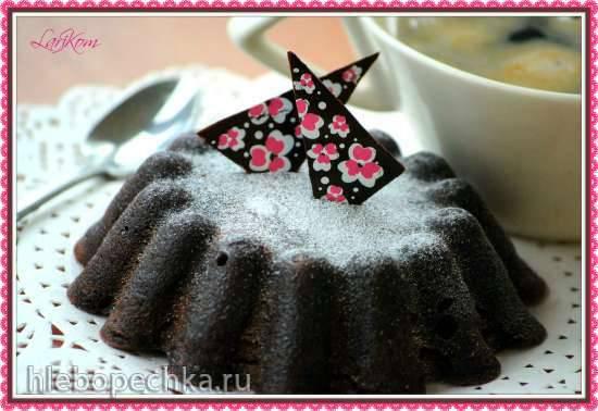 Кекс из мороженого в микроволновой печи