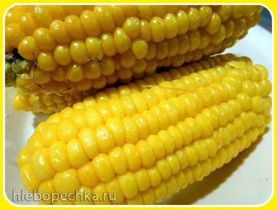 Молодая кукуруза за 8 минут