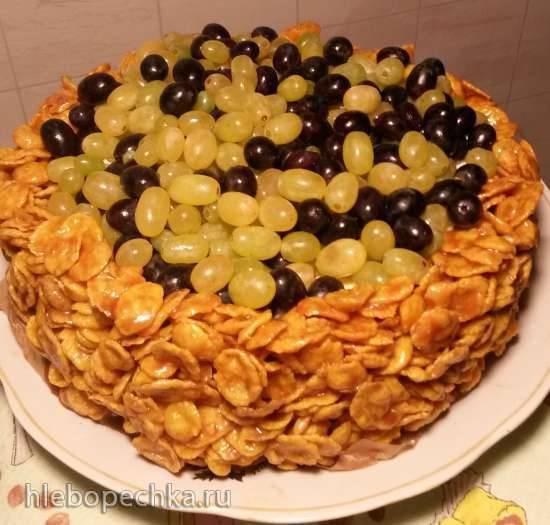 Торт-десерт Виноградный