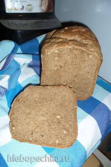 Philips HD9046. Пшенично-ржаной хлеб с мёдом и семечками