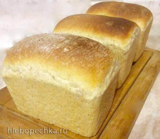 Хлеб пшеничный с мюсли Будь Здоров (минипечь Steba KB28ECO)