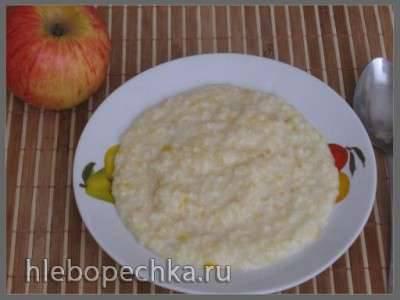 Пшенно-рисовая молочная каша  (Polaris 0305)