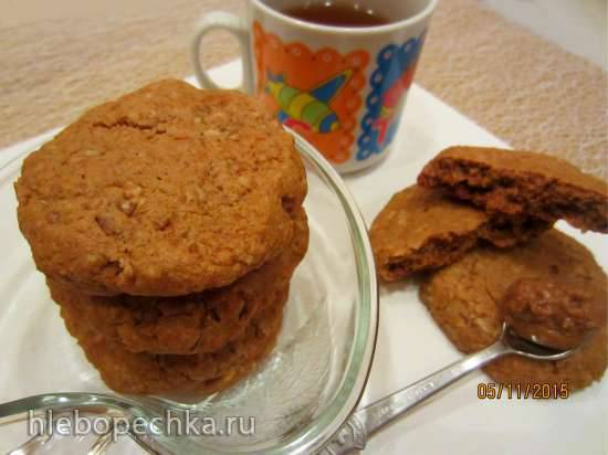 печенье с арахисовой пасты Печенье с арахисовой пастой: рецепт с фото