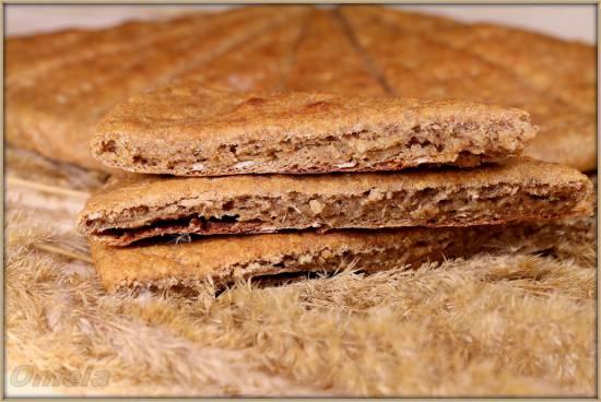 Хлебцы из нескольких сортов муки