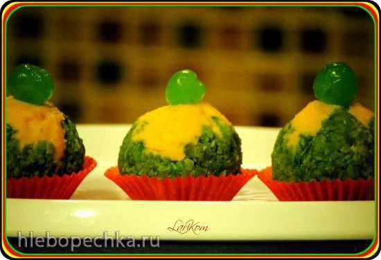 """Десерт Тякин сибори, или """"сжатый в салфетке"""""""
