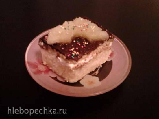 Пирог с печеньем Нежность