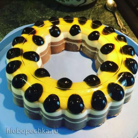 Десерты в желейной форме Подсолнух Tupperware