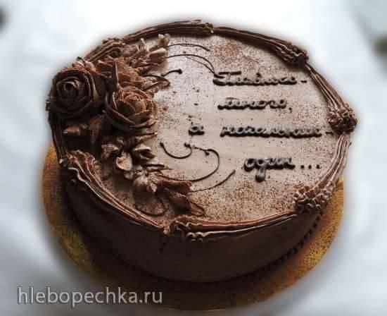 Торт Вариации на тему Пьяной вишни