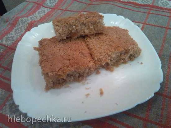 Пирог с кабачками (тыквой)
