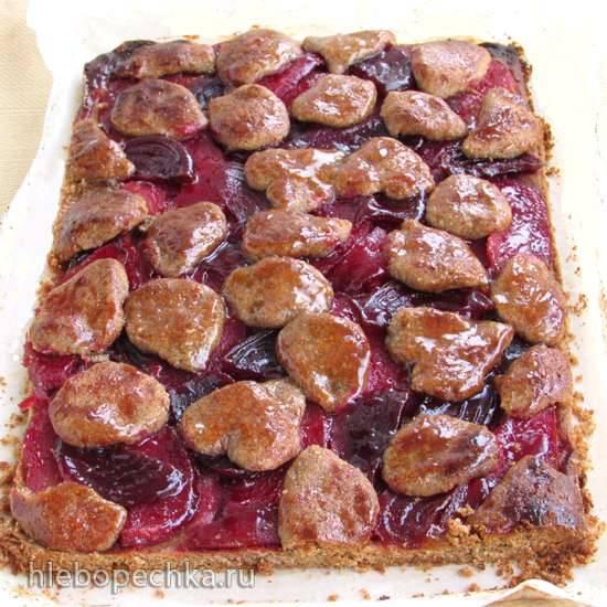 Линцкий торт с айвой и свеклой Линцкий торт с айвой и свеклой