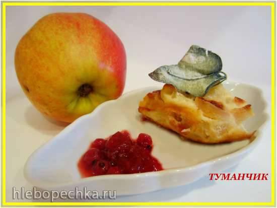 Лапшевник яблочный