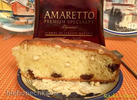 Пирог с оливковым маслом от Дарио Чеккини (torto con olio di oliva)