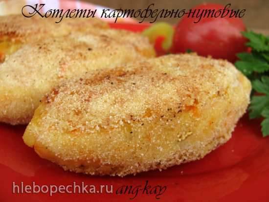 Котлеты картофельно-нутовые (постные)