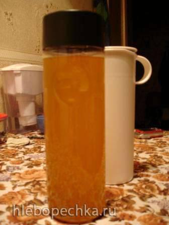 Домашняя Фанта из апельсиновых корочек