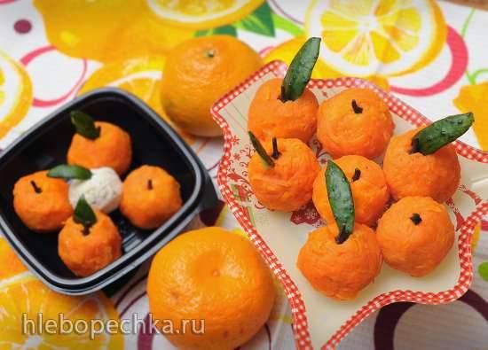 Сырные мандаринки