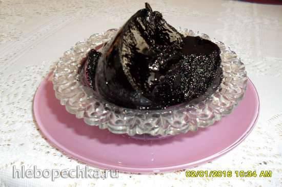 Черничный пирог другим манером Джем из Санберри, солнечной ягоды (черника форте)